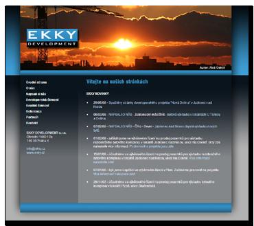 Ekky Development - společnost dnes již neexistuje