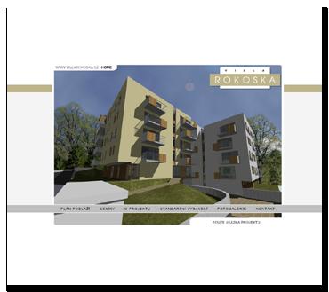 Vila Rokoska - projekt je již ukončen