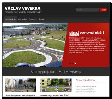 Václav Veverka - PROJEKČNÍ PRÁCE V OBORU DOPRAVNÍ STAVBY